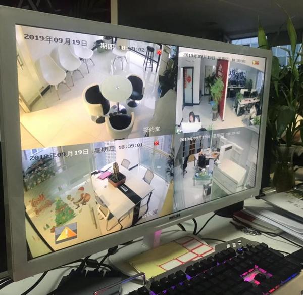 陕西某地产公司监控网络综合搭建