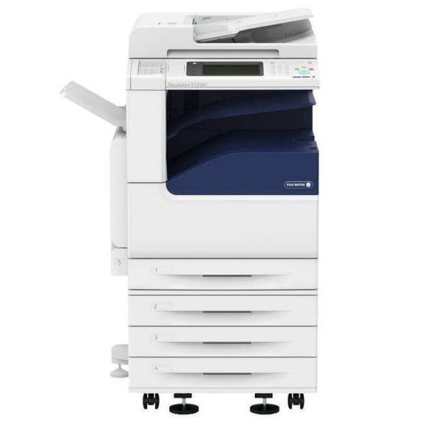 富士施乐C7435 A3彩色复合机 双面配 四纸盒(复印/网打/彩扫)