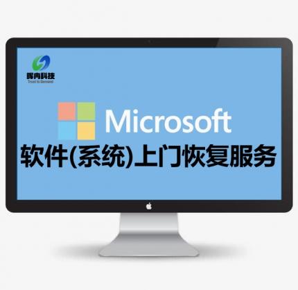 软件(系统)上门恢复服务